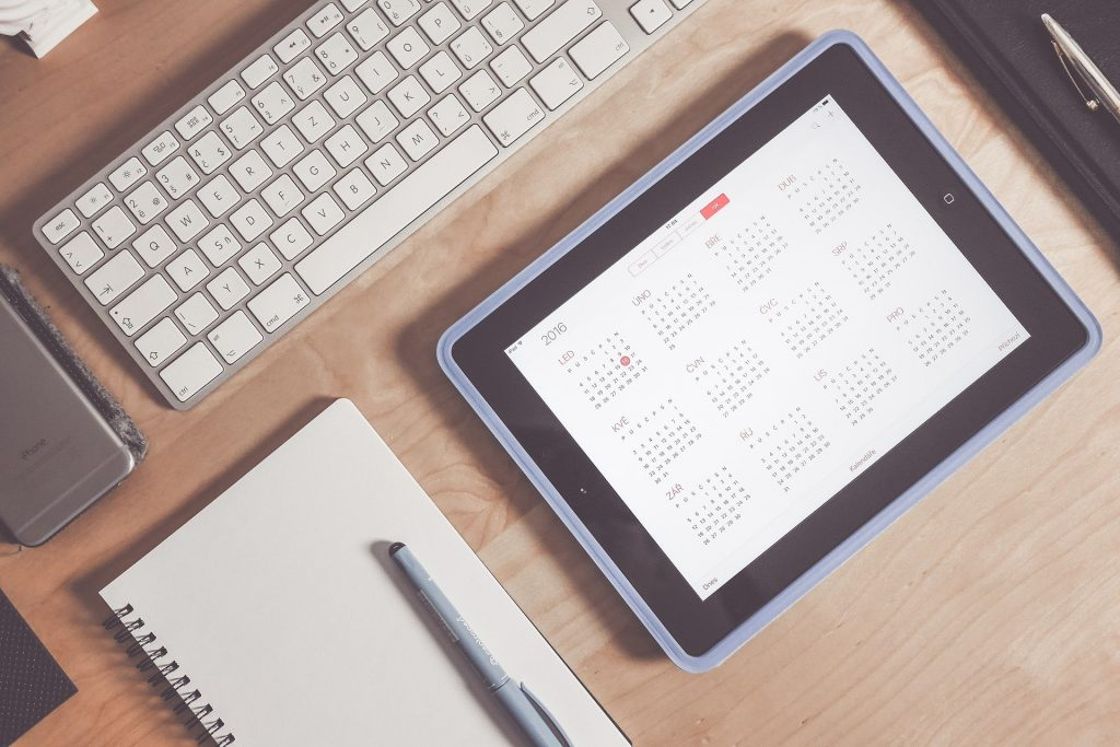 calendario web
